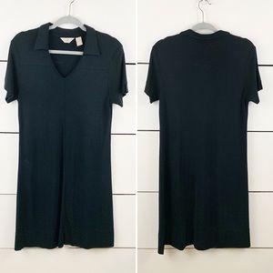 J. JILL Short Sleeve Collared Sporty Dress Medium